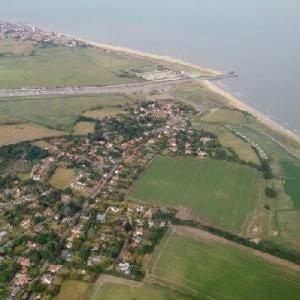 Walberswick from the air
